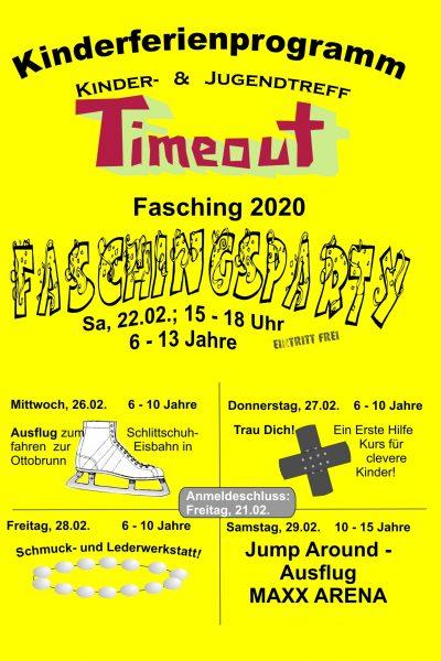 CoverFaschingsferien2020